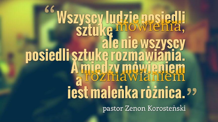 Zenek K_Rozmawianie